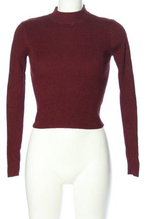 Pull & Bear Rippshirt pink Casual-Look