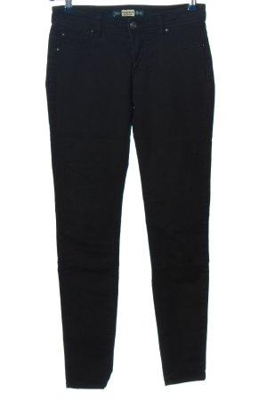 Pull & Bear Pantalone a sigaretta nero stile casual