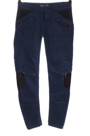 Pull & Bear Röhrenjeans blau Casual-Look