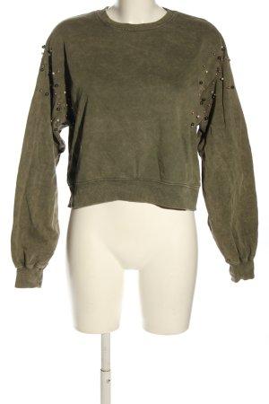 Pull & Bear Sweatshirt khaki Casual-Look