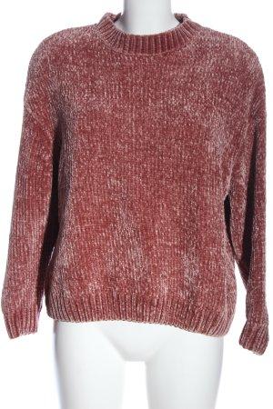 Pull & Bear Rundhalspullover pink Casual-Look
