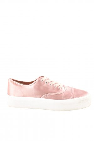 Pull & Bear Schnürsneaker pink Casual-Look