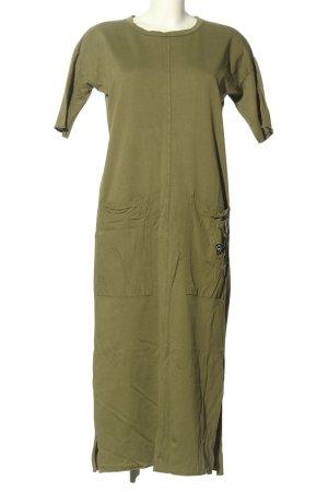 Pull & Bear Shirtkleid khaki Casual-Look