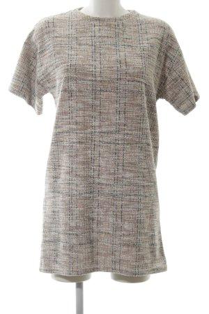 Pull & Bear Sukienka o kroju koszulki Wzór w kratkę W stylu casual