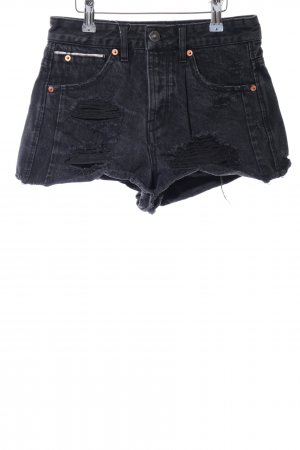 Pull & Bear Shorts schwarz Casual-Look
