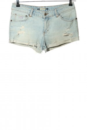 Pull & Bear Shorts blau Casual-Look