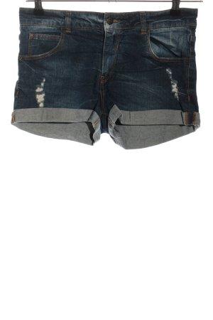 Pull & Bear Shorts blau Casual-Look