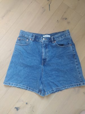 Pull&Bear Shorts Denim Jeans Jeansshorts Mom Highwaist