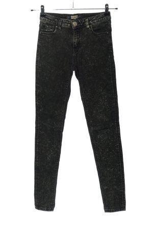 Pull & Bear Skinny Jeans schwarz Casual-Look