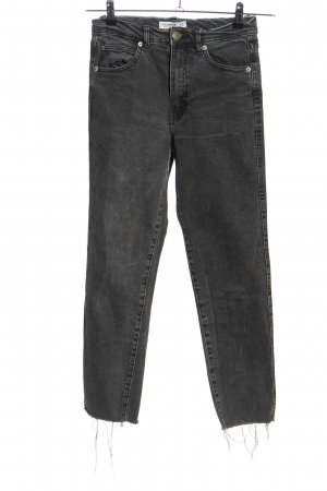 Pull & Bear Skinny Jeans hellgrau Street-Fashion-Look