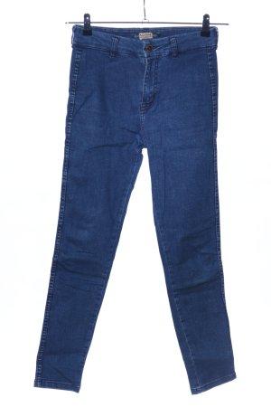 Pull & Bear Skinny Jeans blau Casual-Look