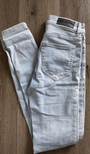 Pull & Bear Jeans skinny azzurro-azzurro