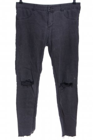 Pull & Bear Skinny Jeans hellgrau Casual-Look