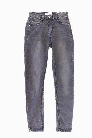 Pull&Bear Skinny Jeans grau Größe 36
