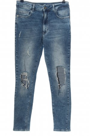 Pull & Bear Slim Jeans blue casual look