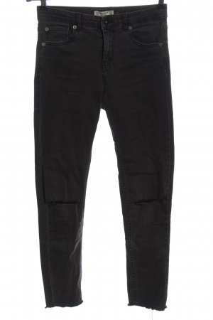 Pull & Bear Jeans slim fit nero stile casual