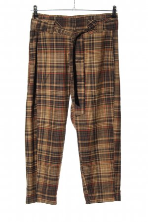 Pull & Bear Jersey Pants check pattern casual look