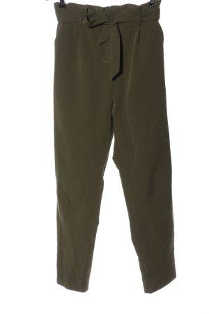 Pull & Bear Jersey Pants khaki casual look