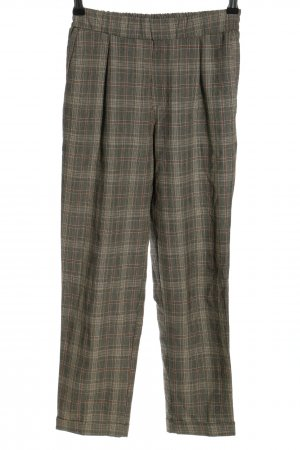 Pull & Bear Jersey Pants light grey-brown allover print casual look