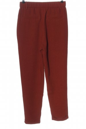 Pull & Bear Jersey Pants red business style
