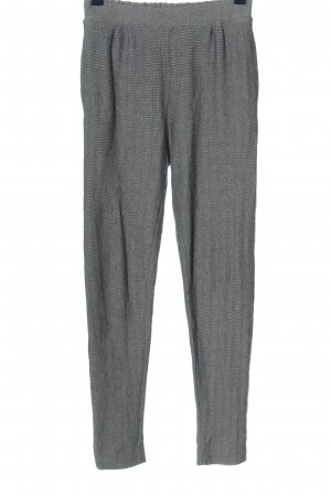 Pull & Bear Jersey Pants light grey-black striped pattern casual look