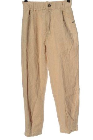 Pull & Bear Jersey Pants cream casual look
