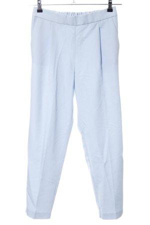 Pull & Bear Stoffhose blau Casual-Look