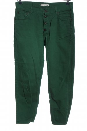 Pull & Bear Stoffhose grün Casual-Look