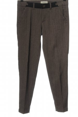 Pull & Bear Jersey Pants brown casual look