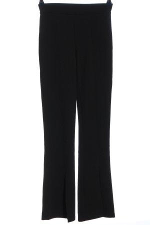 Pull & Bear Pantalon en jersey noir style d'affaires