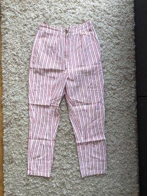 Pull & Bear Jersey Pants multicolored