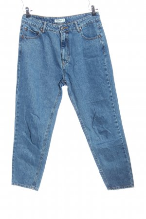 Pull & Bear Straight-Leg Jeans blau Casual-Look