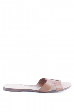 Pull & Bear Beach Sandals brown casual look