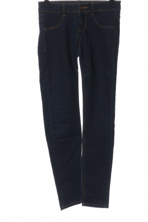 Pull & Bear Stretch Jeans blau Casual-Look