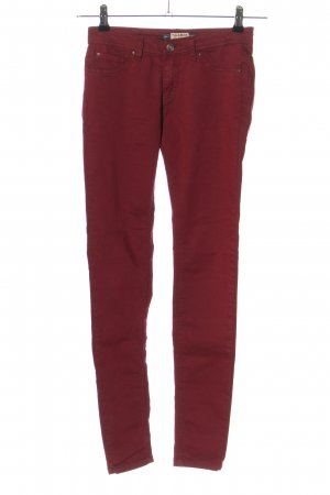 Pull & Bear Stretchhose pink Casual-Look
