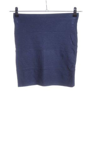 Pull & Bear Stretchrock blau Casual-Look