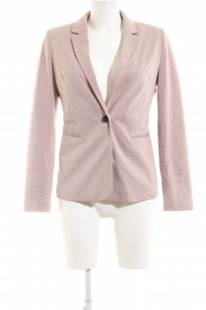 Pull & Bear Sweatblazer pink meliert Business-Look