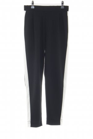 Pull & Bear Sweat Pants black-natural white business style