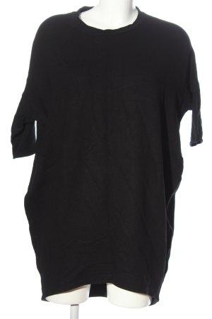 Pull & Bear Sweatkleid schwarz Casual-Look