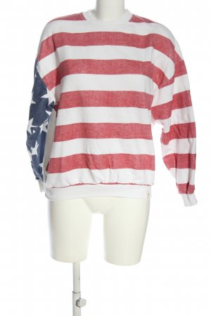 Pull & Bear Sweatshirt Allover-Druck Casual-Look