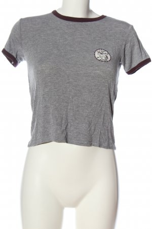 Pull & Bear T-Shirt meliert Casual-Look
