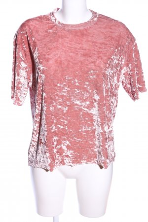 Pull & Bear T-Shirt pink Casual-Look