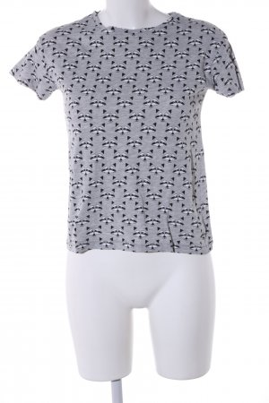 Pull & Bear T-Shirt Allover-Druck Casual-Look