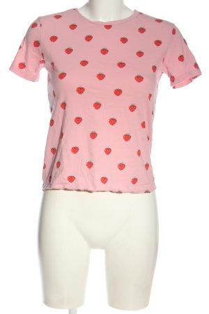 Pull & Bear T-shirt imprimé allover style décontracté
