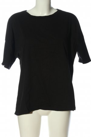 Pull & Bear T-Shirt schwarz Casual-Look
