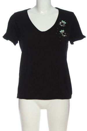 Pull & Bear T-shirt nero stile casual