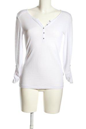 Pull & Bear T-shirt blanc style décontracté