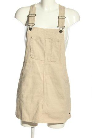 Pull & Bear Trägerkleid creme Casual-Look