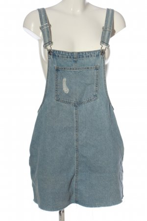 Pull & Bear Overgooier rok blauw casual uitstraling