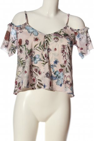 Pull & Bear Strappy Top allover print casual look
